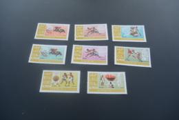 K30292 - Set MNH Ajman - 1968 - Olympics Mexico - Zomer 1968: Mexico-City