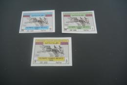 K30302 -  Set  IMPERF. MNH Yemen 1968 - - Olympics Mexico - Zomer 1968: Mexico-City
