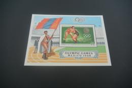 K30312 -Bloc MNH  Mongolia - 1968 - Olympics Mexico - Zomer 1968: Mexico-City