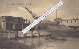 """LILLO-ANTWERPEN """"DE SLUIZEN-LES ECLUSES""""HOELEN 9464  UITGIFTE 04.08.1925 TYPE:9 - Antwerpen"""