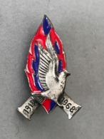 Insigne 1918-1968 DRAGO PARIS (Provenant Du Cadre Fabriqué Le Propriétaire était Sculpteur JT... - Médailles & Décorations