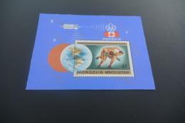 K30321 -Bloc  MNH  Mongolia - 1976 - Olympics  Montreal - Summer 1976: Montreal