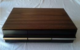 Caisson/ Tiroirs Rangement 36 Cassettes Audio - Objet Vintage - 70ies - Accessories & Sleeves