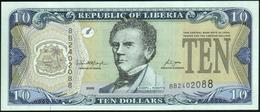 LIBERIA - 10 Dollars 2006 UNC P.27 C - Liberia