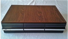 Caisson/ Tiroirs Rangement 36 Cassettes Audio - Objet Vintage - 70ies - Accesorios & Cubiertas