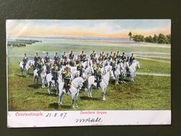 CONSTANTINOPLE-Cavalerie Turque - Turquie