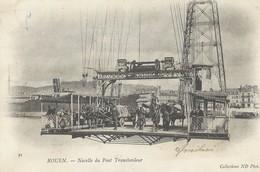 Rouen   Nacelle  Du Pont Transbordeur    Ecrite En 1903 - Rouen