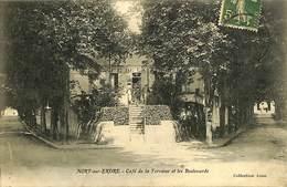 CPA - France - (44) Loire Atlantique - Nort Sur Erdre - Café De La Terrasse Et Les Boulevards - Nort Sur Erdre
