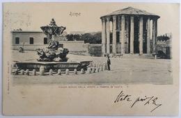 V 72622 - Roma - Piazza Bocca Della Verità E Tempio Di Vesta - Roma