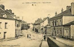 CPA - France - (44) Loire Atlantique - Nort Sur Erdre - Route D'Ancenis - Nort Sur Erdre