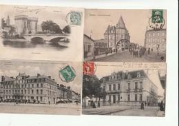 LOT De 1000 Cartes De France (cpa Et Cpsm). - Cartes Postales