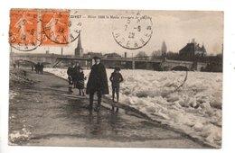 08 - GIVET . Hiver 1916 . La Meuse Couverte De Glaçons - Réf. N°24509 - - Givet