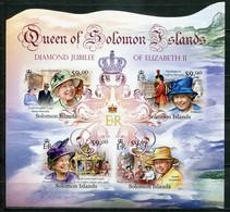 Salomonen Mi# 1541-5 Postfrisch MNH - QEII, Nelson Mandela - Salomon (Iles 1978-...)