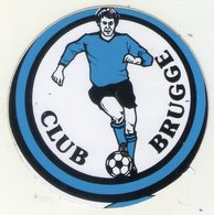 AUTOCOLLANT . STICKER . FOOTBALL . VOETBAL .  .CLUB   BRUGGE . - Autocollants