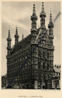 1929 : Photo, Belgique, Louvain, L'Hôtel De Ville, Stalles De L'Eglise Sainte-Gertrude, Recto-verso - Vieux Papiers