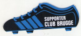 AUTOCOLLANT . STICKER . FOOTBALL . VOETBAL .SUPPORTER  .CLUB   BRUGGE . - Autocollants