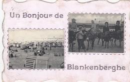 BLANKENBERGE / UN BONJOUR DE BLANKENBERGE / MULTIVIEW 1908 - Blankenberge