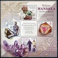 Salomonen Mi# 1831-4 Postfrisch MNH - Nelson Mandela - Salomon (Iles 1978-...)