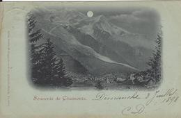 74 CHAMONIX MONT BLANC SOUVENIR DE CHAMONIX  Editeur GUGGENHEIM 2183 - Chamonix-Mont-Blanc