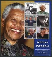 Dominica Mi# Block 560 Postfrisch MNH - Nelson Mandela - Dominica (1978-...)