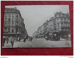 BRUXELLES -  Place Fontainas   Et Boulevard Du Hainaut  -  1910 - Corsi