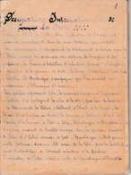 1897/98 RÉVOLTE CRÉTOISE - Volonté D'INDÉPENDANCE Du Peuple Crétois Vis-à-vis De L'Empire OTTOMAN - Historische Dokumente