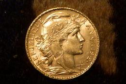 Monnaie De France 20 Francs Le Coque 1906 - Gold