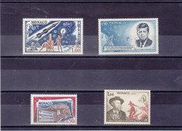 MONACO 1964 Yvert 636 + 658-660 NEUF** MNH - Monaco