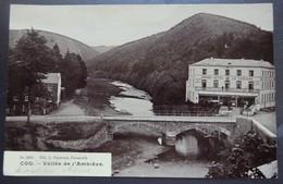 COO - Vallée De L' Amblève - Photo Carte - Grand Hôtel De La Cascade - Circulé - 2 Scans. - Stavelot