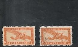INDOCHINE Timbre De 1933-38  N° 12 * 12 Oblitéré - Aéreo