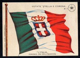 VOTATE STELLA E CORONA - Volantino Del Partito Nazionale Monarchico - Mm. 108 X 150 - Vieux Papiers