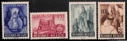[651029]TB//**/Mnh-c:17e-BELGIQUE 1948 - N° 777/80, Abbaye De Chèvremont, Religion, Fraîcheur Postale, SC - Belgio