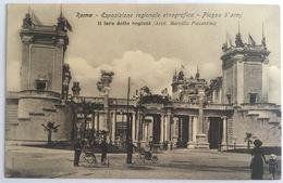V 72636 - Roma - Esposizione Regionale Etnografica - Piazza D'Armi - Il Foro Delle Regioni - Expositions