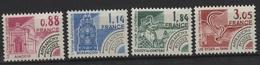 PREO 105 - FRANCE Préoblitérés N° 170/73 Neuf** Monuments Historiques - Préoblitérés