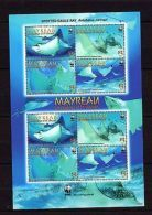 St.Vincent Mayreau 2009 Marine Life WWF MNH  Mi.46-49 --(cv 17) - Marine Life