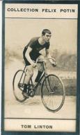 Tom LINTON Né Aberaman (Arthur Linton Brother) - Cycliste Anglais Record De L'heure - Collection Photo Felix POTIN 1900 - Félix Potin