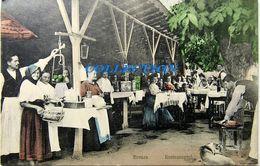 BREAZA - Prahova 1909, Restaurantul Manolescu, Rara, Timbru Carol I - Roumanie