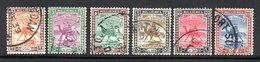 CONDOMINIUM - 1927 / 1940 YT 37 à 42 OBLITERES - Sudan (...-1951)