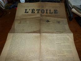 Rare Journal Hebdomadaire De Jumet Et Environs L'étoile 23/10/1920 Chronique De Roux Avec état Civil - Kranten