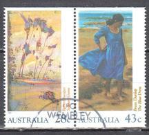 Australia 1990 - Impressionism - Mi.1227-28 - Perf.15½ - Used - 1990-99 Elizabeth II