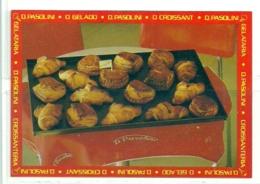 1986 Pocket Calendar Calandrier Calendario Portugal Bolos Cakes Des Gâteaux Pastels Croissanteria D Pasolini - Calendars