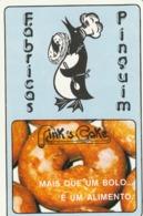 1987 Pocket Calendar Calandrier Calendario Portugal Bolos Cakes Des Gâteaux Pastels Fábricas Pinguim Reboleira Amadora - Calendars