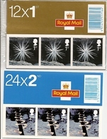 GREAT BRITAIN, FOLDED BOOKLET, 2003, LX 25/26, Christmas - Carnets