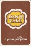 1986 Pocket Calendar Calandrier Calendario Portugal Bolachas Crackers Les Cookies Galhetas Dan Cake - Calendarios