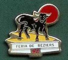 @@ Taureau Féria De BEZIERS 1991@@fer.19 - Tauromachie - Corrida