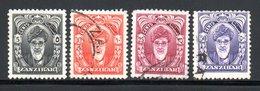 PROTECTORAT - YT 207 208 211 215 OBLITERES - Zanzibar (...-1963)