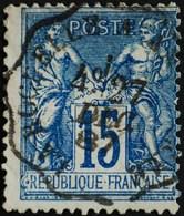 -Sage N°90 Type Ll ( AMBULANT )  O  . - 1876-1898 Sage (Type II)