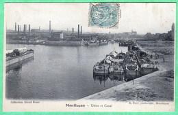 MONTLUCON - USINE ET CANAL - Montlucon