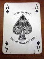 ASSO DI PICCHE VARITEMAS MAS REYNALS NAIPES  CARTA DA GIOCO - Kartenspiele (traditionell)