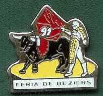 @@ écarteur Matador Torréador Taureau FERIA DE BEZIERS 1991 @@fer24 - Tauromachie - Corrida